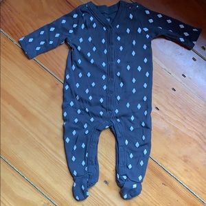 SALE 3/$16 Gymboree Diamond Footed Pajamas